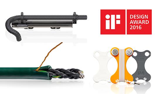 易格斯产品荣获三项iF设计奖