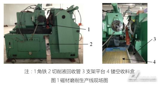 磁材磨削自动收料机研制(图1)