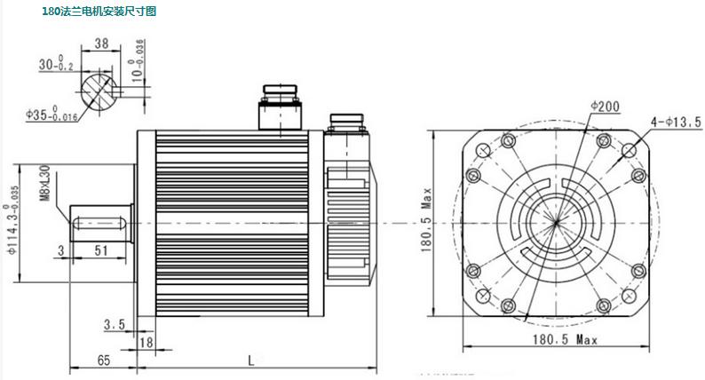 四方 CM155系列伺服电机