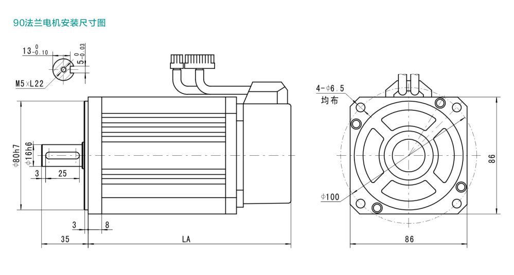 四方 CM105系列伺服电机