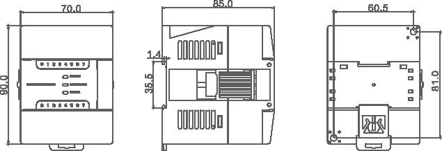 四方 EP1系列IO扩展模块