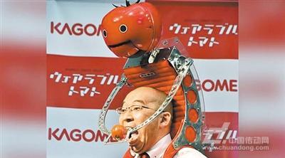 可食用机器人
