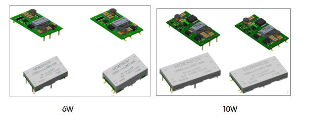 金升阳全新超薄6W/10W SMD/DIP封装DC/DC电源模块