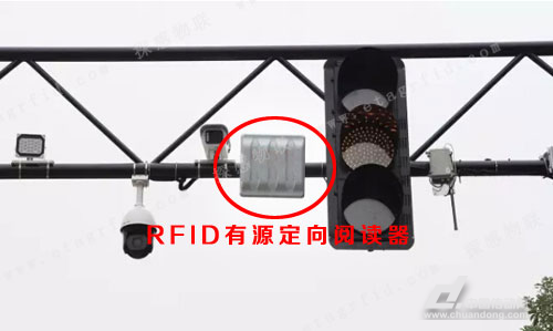 探感有源定向RFID读写器用于公交优先系统