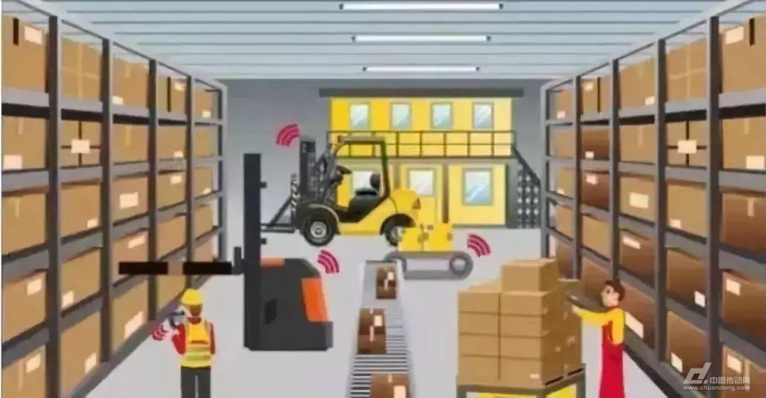 AGV仓储机器人