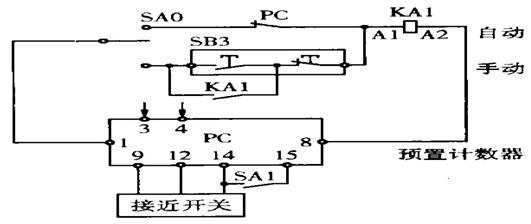 调速电位器(r)接至变频器