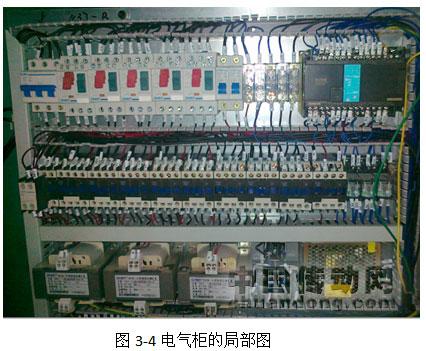 通过中间继电器控制气缸动作;图片