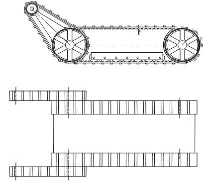 机器人外形结构图