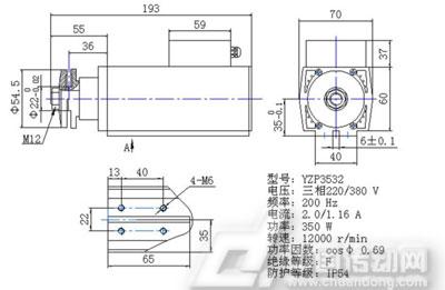 微分电机 yzp系列高速变频电机