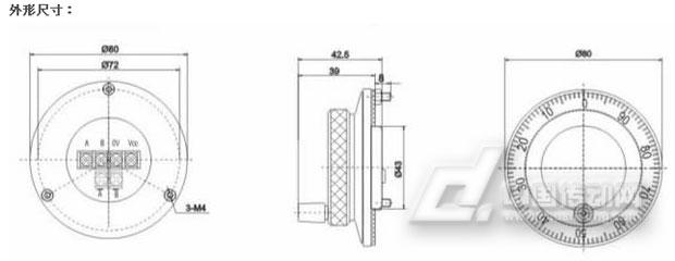 hy80手摇脉冲发生器(手轮编码器)