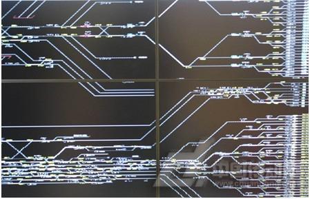 lcd拼接数据图像显示