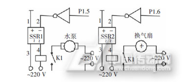 图3-2湿度控制电路
