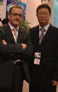 沃尔夫冈·罗森塔尔 陆峰 德国赛米控子公司新多力COO及珠海新多力大中华区总经理