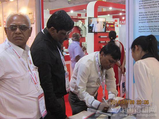 阿尔法参展第11届印度电力电工设备及技术展览会