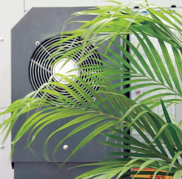 sinwan风扇应用于美国哈斯数控机床