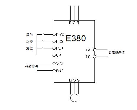 sunfar启动器e380接线图