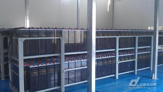 东澳岛微电网蓄电池组