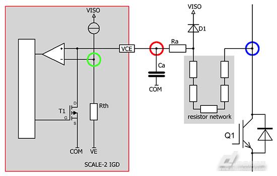 电流亘感器放电检测接线图