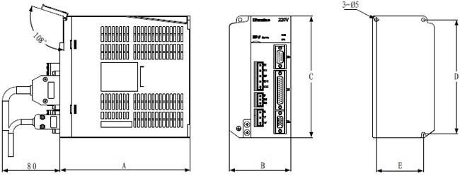 迈信ep3系列-gl系列 全数字交流伺服驱动器