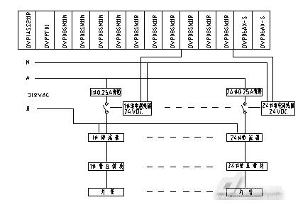 图2老练机灯管检测电路改造后原理图