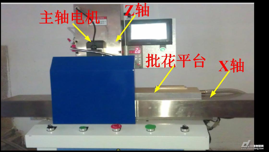 两轴数控批花机plc接线原理如图3-3,plc电气控制柜接线如图3-4.