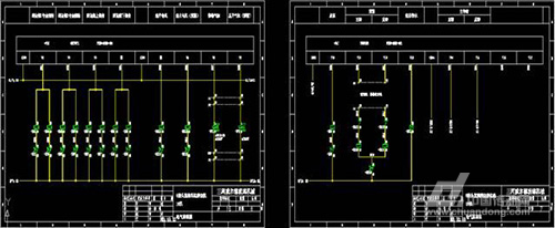 plc输出控制部分电气接线图