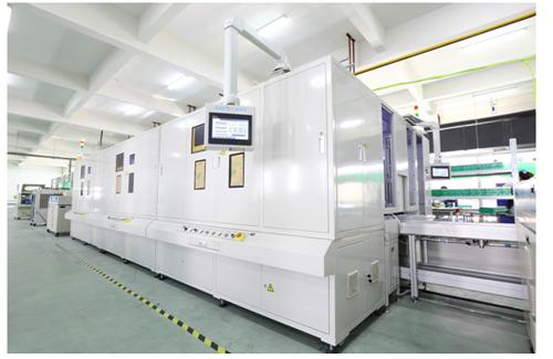 AH500动力锂电池激光焊接生产线解决方案助力高科动力能源企业