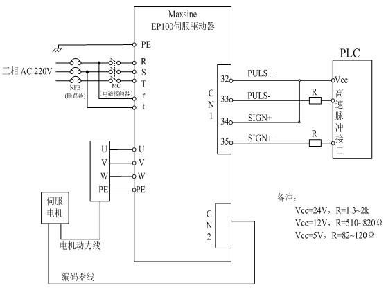 系统原理接线图:(以ep100为例)