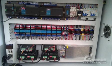图3-7电气控制柜接线图图片