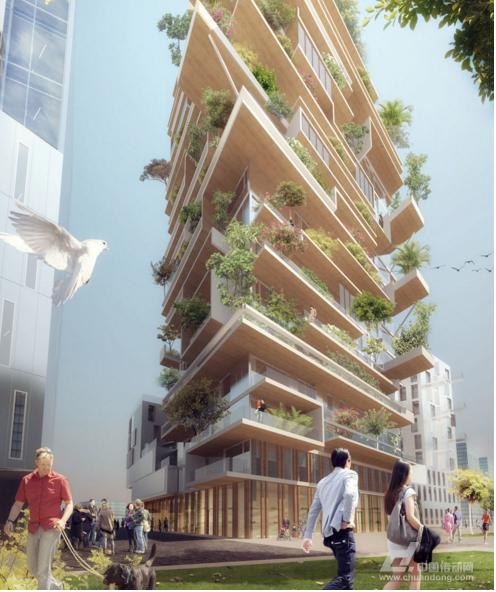 世界上最高的现代木结构建筑设计