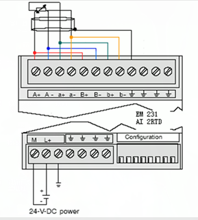 em231热电阻接线问题