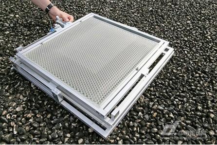 light开发中的聚光型太阳能电池板(摄影:EFPL/AlainHerzog)-瑞士图片