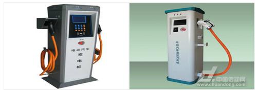 常见纯电动车的充电桩种类区别