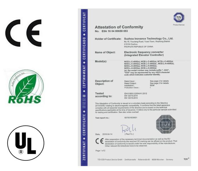 默纳克电梯产品权威认证之路