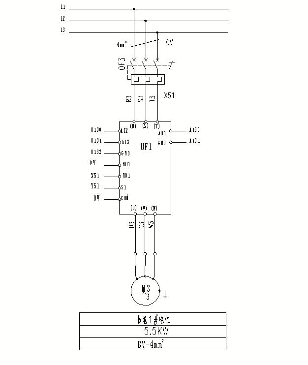 英威腾 goodrive200a系列变频器在铅带收卷机上的应用