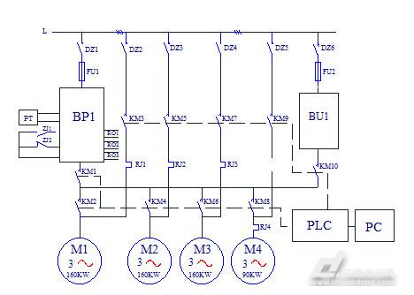 安弗森变频器在自来水厂的恒压供水系统解决方案