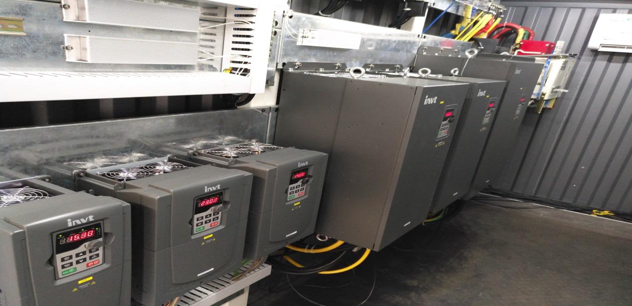 英威腾goodrive系列变频器在吹膜机上的应用