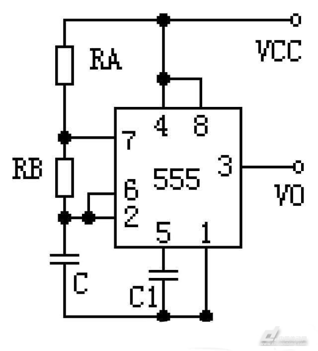 ne555构成的直流电机pwm调速器原理分析!
